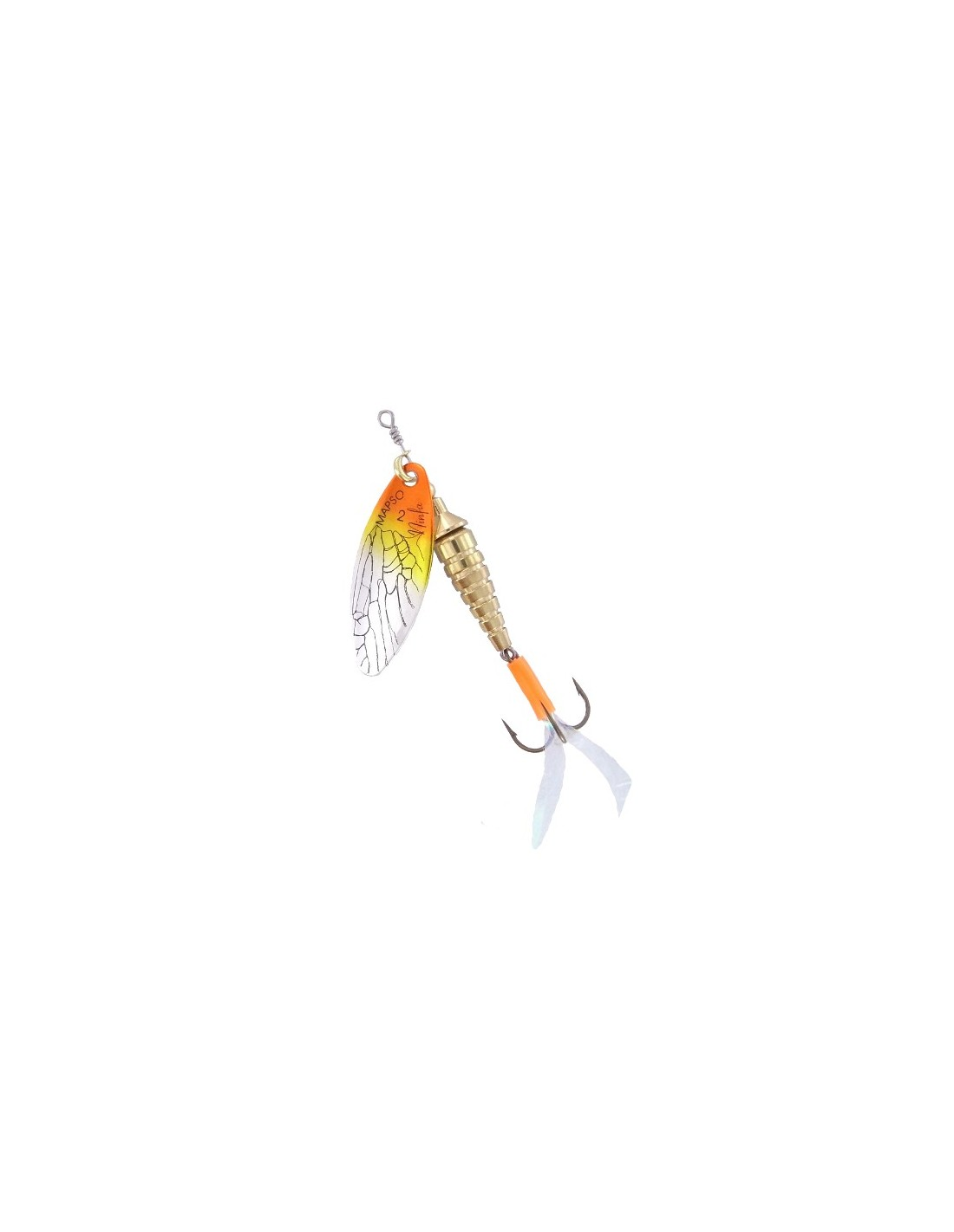 Ninfa-DEC / Plata-Amarillo-Naranja
